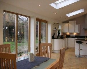 Kitchen extension and family room in Baildon