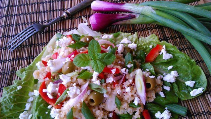 Görög bulgursaláta - a legfinomabb diétás ebéd!