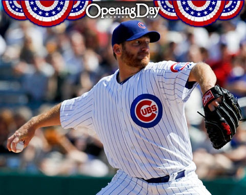 Ryan Dempster...opening day pitcher for the 2012 Chicago Cubs season!