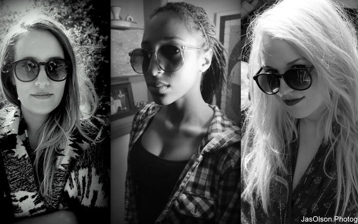 """Triptych of three sisters: """"This is what sisters look like"""".  #portraiture #photography circa 2012/2013"""