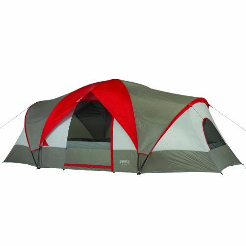 Wenzel Great Basin Three-Room Family Dome Tent u2013 Multicoloured 18 x 10 ft  sc 1 st  Pinterest & 49 best Family Camping Tents images on Pinterest | Family camping ...