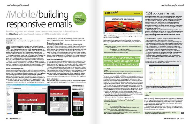 Responsive Email Design, from emaildesignreview.com