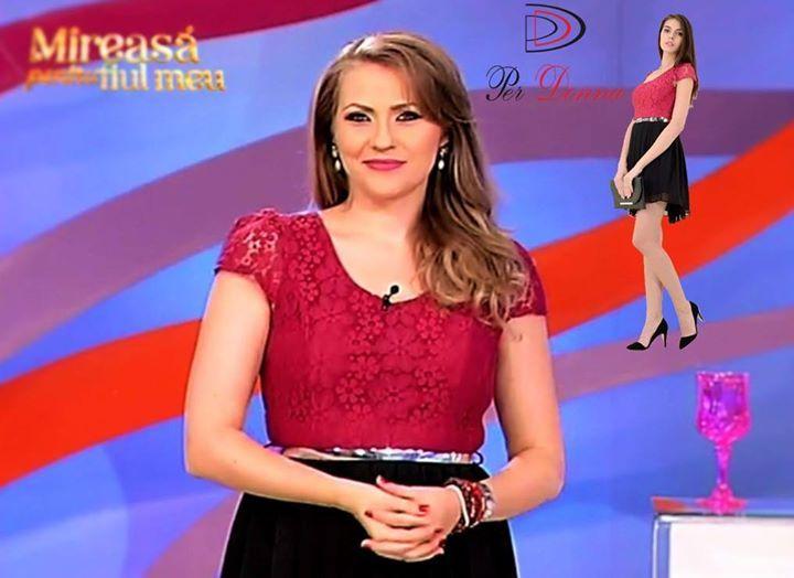 Mirela a purtat astazi o rochie Per Donna! <3  Gasiti aici acest model: http://ift.tt/1LRNvzm #sepoartaperdonna #mirelaboureanuvaida www.perdonna.ro