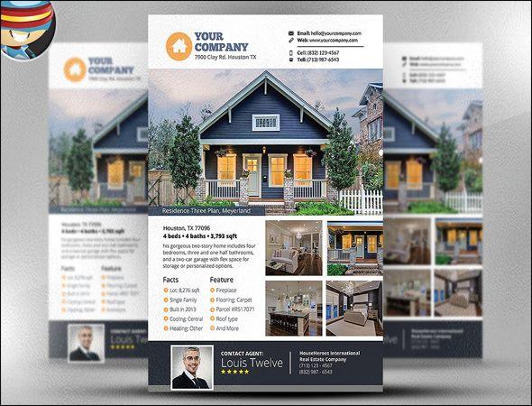 real estate design templates