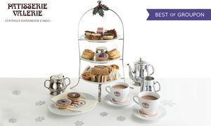 Groupon - Festive Afternoon Tea for Two with Optional Prosecco and Mince Pies at Patisserie Valerie, Nationwide (Up to 23% Off) in Multiple Locations. Groupon deal price: £22