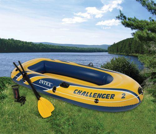 Le super bateau gonflable Intex Challenger vous fera profiter de balades exceptionnelles à la mer comme sur un lac. #mer #bateau #gonflable #lac #balade #croisière #raviday