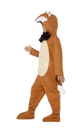 disfraz de zorro para nia