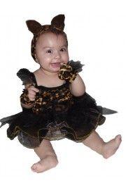 Kız Bebek Leopar Kostümü