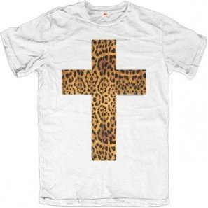Allinclusive Apparel spotted leopard cross fashion street clothing made in Italy