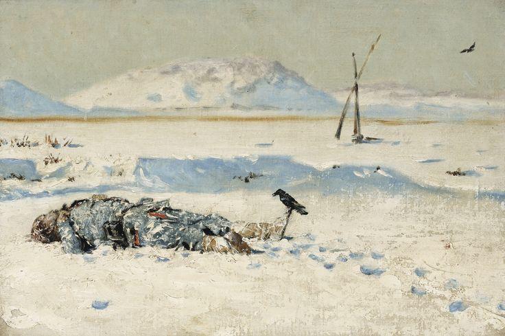 Vereshchagin, Vasily Vasilievich - The Fallen Soldier ||| Figures ||| Sotheby's