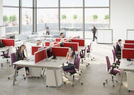 Ścianki działowe, najlepsze meble do biura wyposażenie biura, Contino