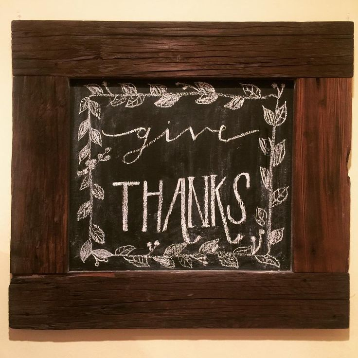 give thanks darling #darlinglettering #thanksgiving #chalkboard