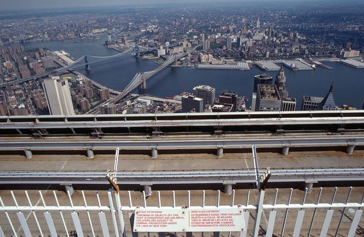 File:World Trade Center 2 - observation deck anti-suicide fence ...