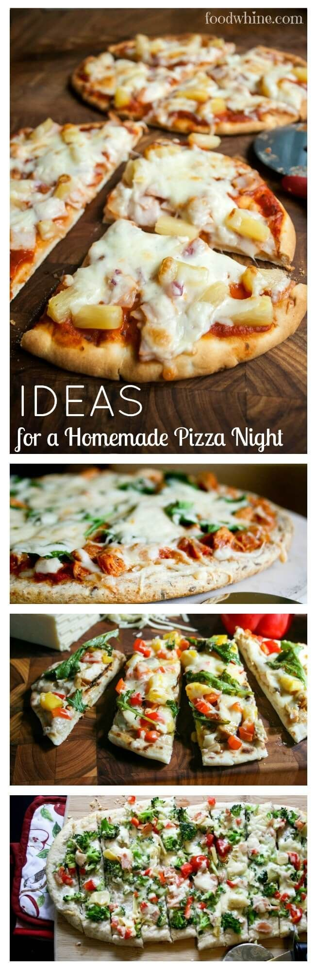 Fantastic ideas for a homemade pizza night. Explore the endless Pizza-bilities!