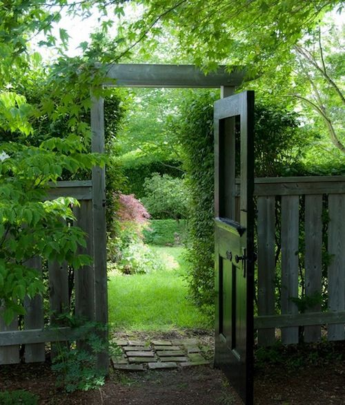 back yard gates | garden gate security