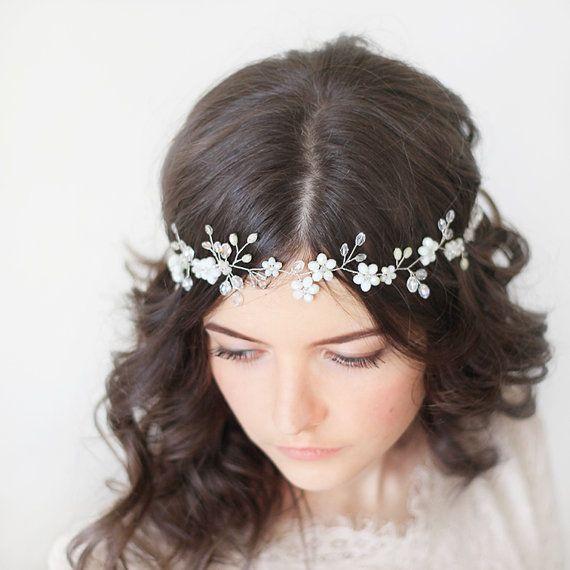 Wedding Hair Vine.Bridal Headpiece.Bridal от SvetloDesign на Etsy