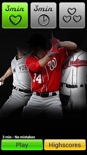 Baseball Player Quiz - baseball trivia games and baseball player quiz in one brain trainer game!<p>Have you already tried soccer players and NBA players riddles? It's time to challenge yourself with new sport game free Baseball Player Quiz. Test your know