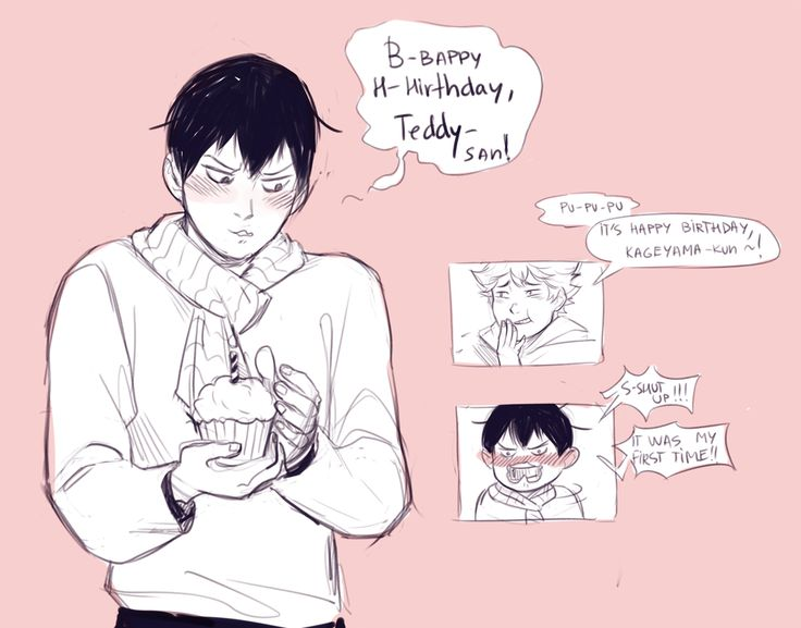 @cranbearly please forgive kageyama, he tried his best. happy *probably belated* birthday to you<33