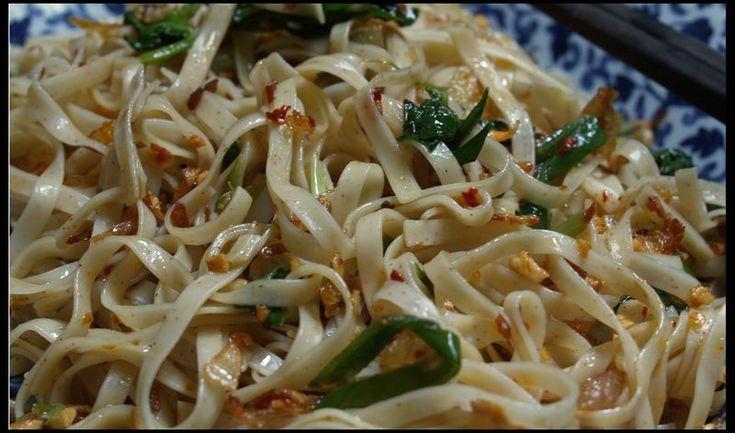 Creamy Garlic Pasta with Shrimp love it <3