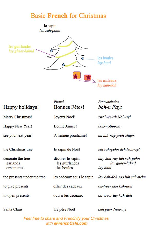 Frenchify Your Christmas | eFrenchCafe.com