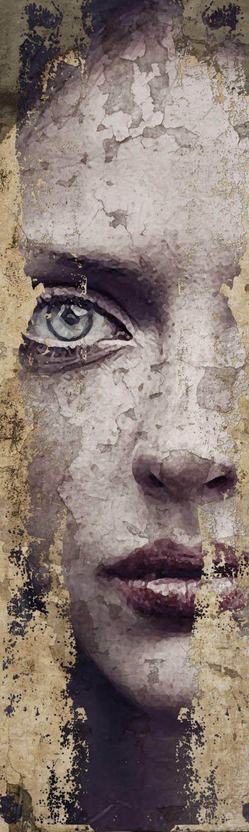 ANTONIO MORA superposition of photographs by Spanis painter ANTONIO MORA