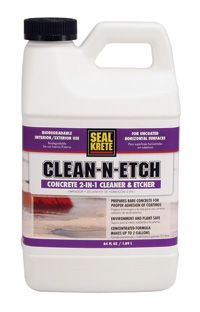 how to clean concrete floors before sealing