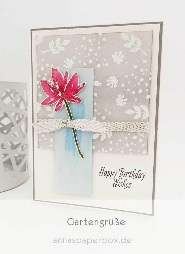 Gartengrüße zum Geburtstag - anna's paperbox