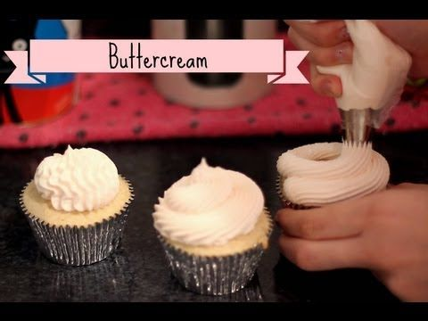 "Como fazer: ""Buttercream"" (Creme de manteiga) - YouTube"