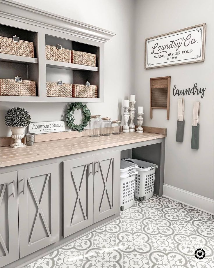 Farmhouse On Pinterest In 2020 Laundry Room Decor Laundry Room Remodel Laundry Room Design