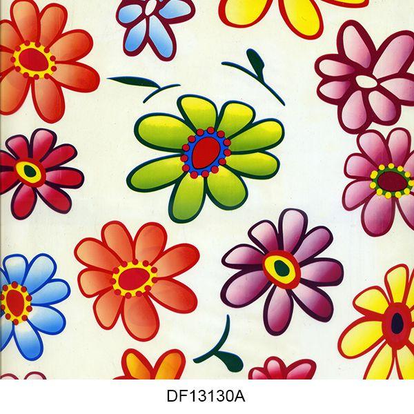 Hydro printing film flower pattern DF13130A