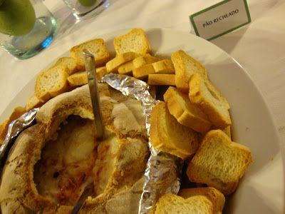 As Minhas Receitas: Pão Recheado e um pedido!
