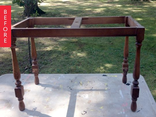 Before & After: A Table Skeleton Comes Back to Life