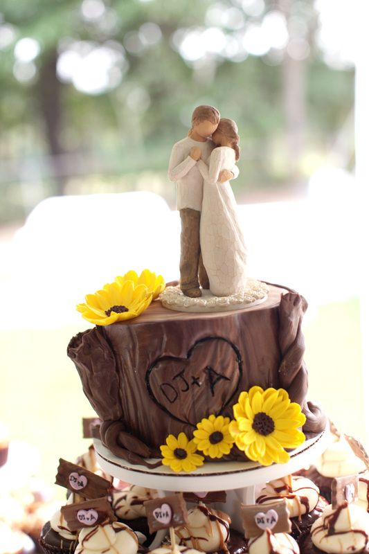 Gorgeous Rustic Wedding Cake Made By Sweettbakes Planning