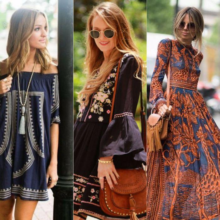 5895278c7 ▷ 1001 + ideas sobre diseños de vestidos boho chic | ropa | Ropa ...