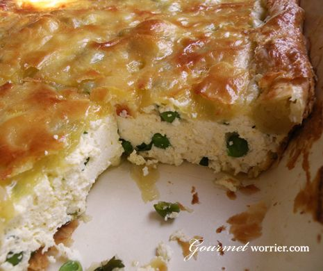 Torta tal - Rikkotta - Ricotta Pie - tried and tested. Excellent and moist.