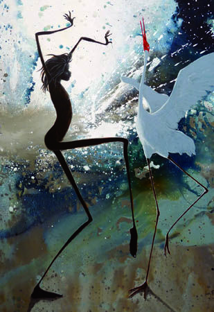 Storm Dancers - Giclee print by Judy Prosser