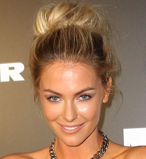 Kate Upton Ballerina Bun Evening Formal Prom