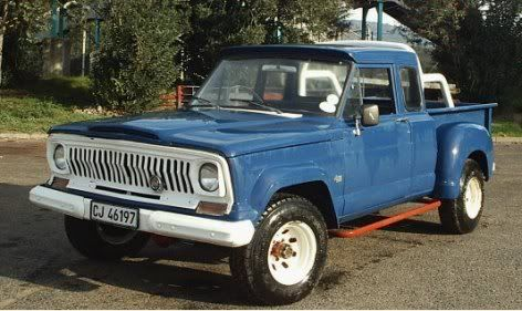 "Chevy Military Trucks For Sale >> 1974 4 Door Jeep Gladiator Pick Up | 67 Gladiator 15K J3000 AMC 327, PTO, 35"" BFG's | Jeep truck ..."