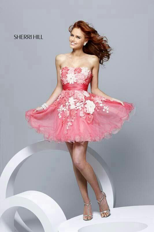 Perfecto Vestido De Fiesta Sheri Colina Ideas Ornamento Elaboración ...