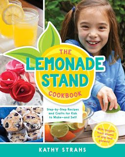 Chat with Vera: Crafts and Recipes to Entertain Kids at Home This summer - The Lemonade Stand Cookbook from Burnt Cheese Press [Review & Giveaway]