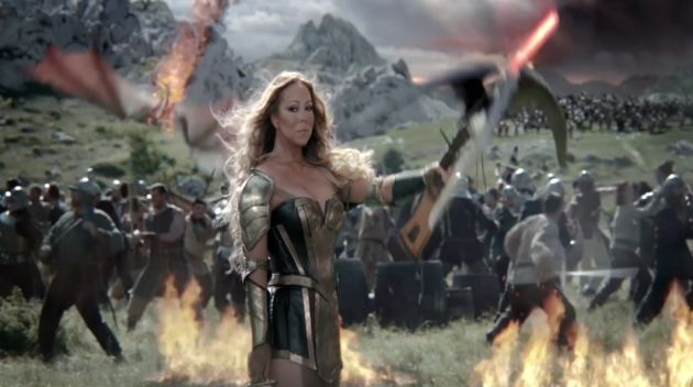 Mariah Careys first ad for Game of War: Fire Age is action-packed