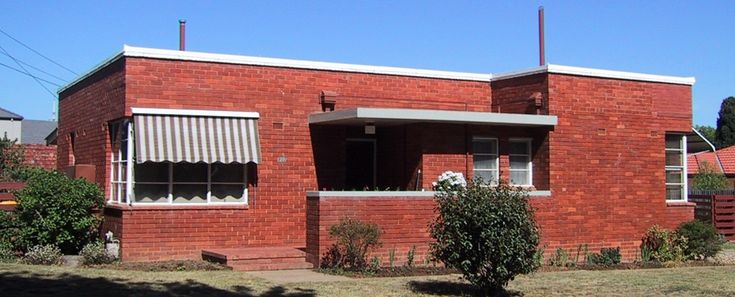 Canberra house | Inter-war functionalist architecture