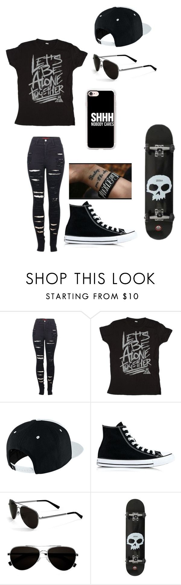 """""""Untitled #141"""" by darksoul7 on Polyvore featuring 2LUV, NIKE, Converse, Calvin Klein and Casetify"""