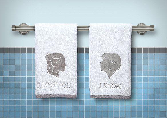 Star Wars Bathroom Hand Towels $19.99