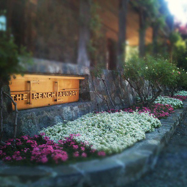 The French Laundry, Thomas Keller's fabulous restaurant in Yountville, Napa Valley, California