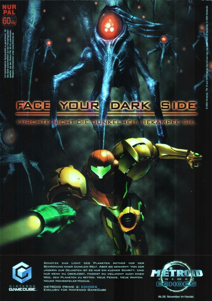 Metroid Prime 2: Echoes(2004) • Scan from: GamePro_12_2004 • Platform: GameCube, Wii • Genre: Action, Adventure, First-Person Shooter, Platformer • Developer: Retro Studios, Nintendo SPD Group No.3 • Publisher: Nintendo