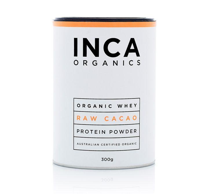 Inca Organics » Organic Whey Protein Powder (Raw Cacao)
