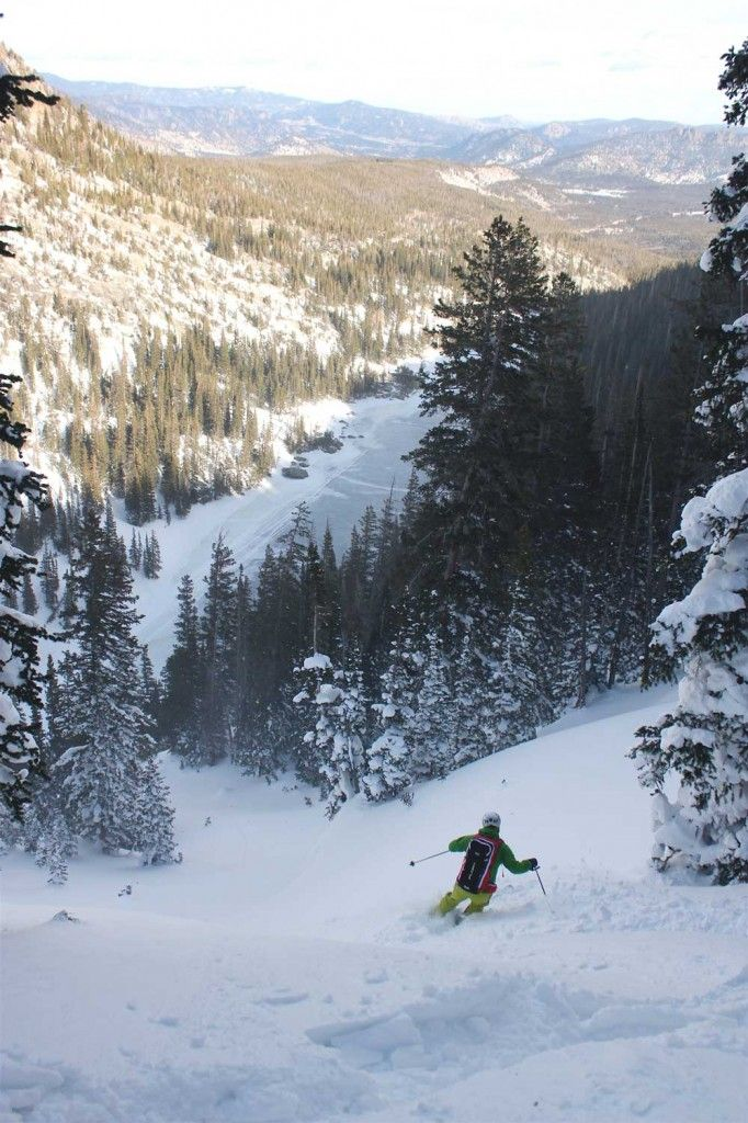 Back Country skiing at Hidden Valley, RMNP.  >>> looks wonderfully cold and powdery!