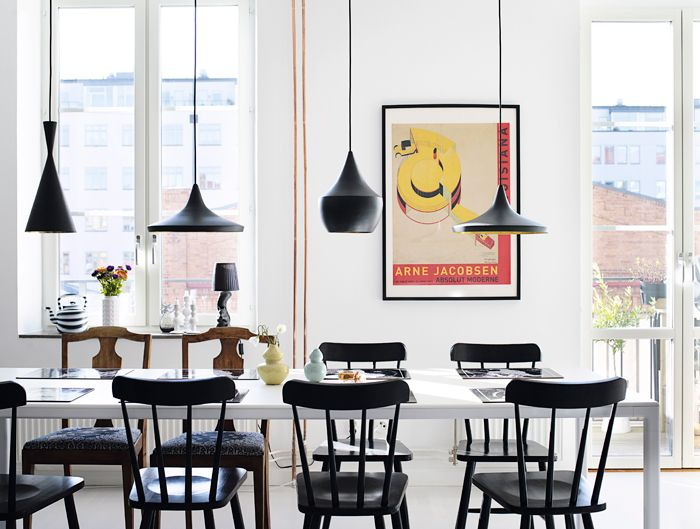 Tom Dixon's Beat Lights come in a number of different shapes - which one if your favourite? http://www.nest.co.uk/browse/brand/tom-dixon Image via elledecoration.se