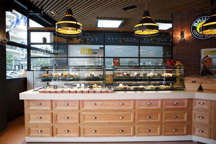 Bruno Coffee Stores | Λάρισα Ηρώων Πολυτεχνείου & Παλαιολόγου